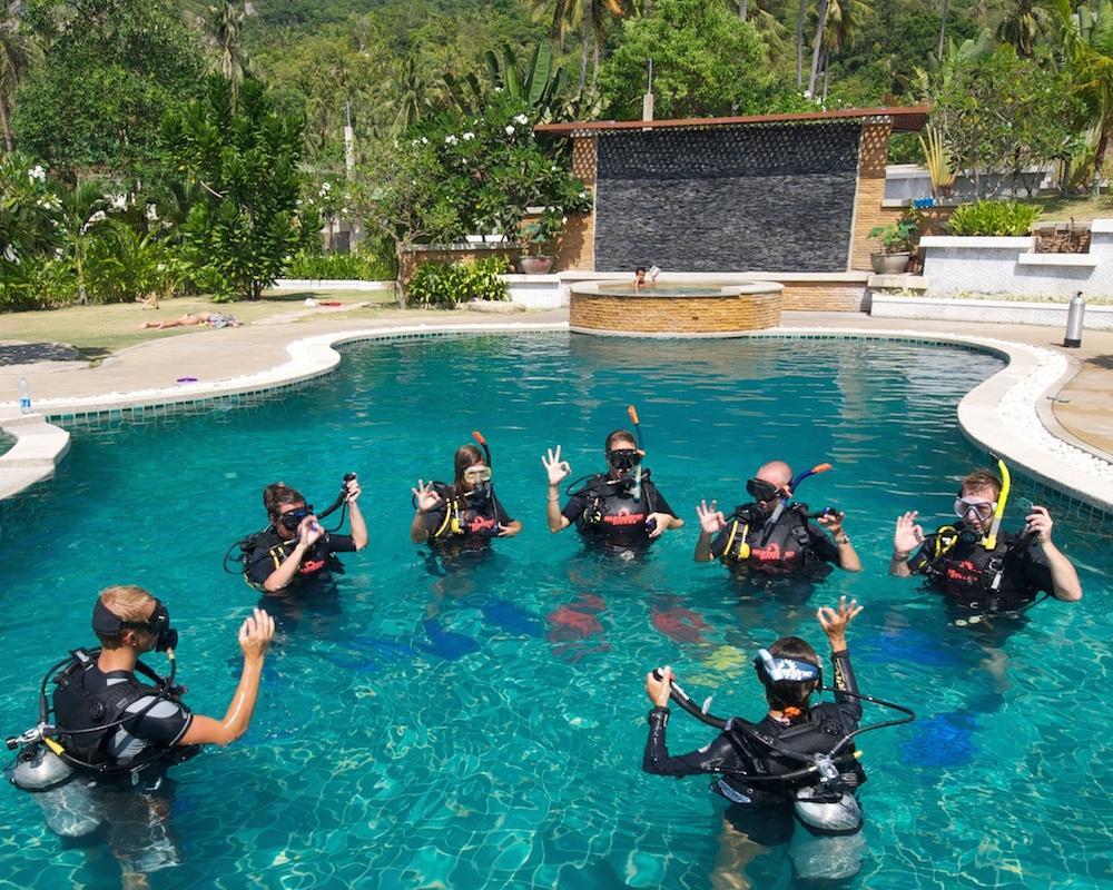 PADI Open Water Diver - Koh Tao - Thailand